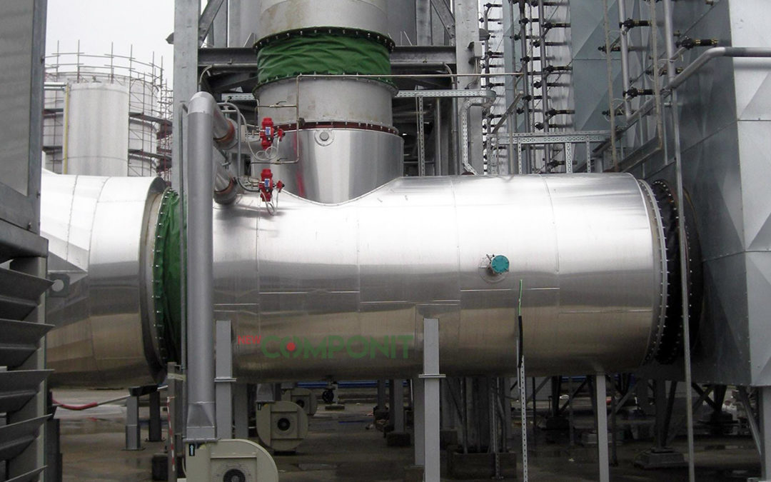 How to plan the maintenance of fabric expansion joints before a plant downtime occurs?